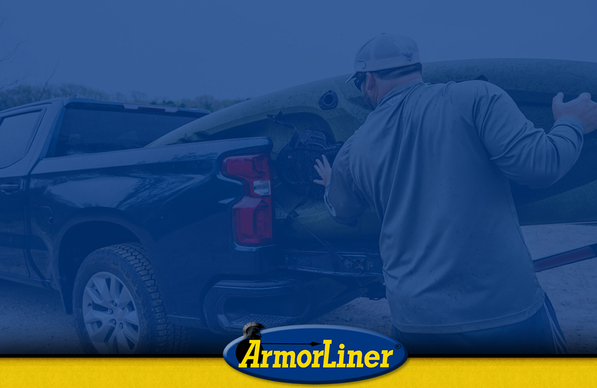 HOW TO SECURE A KAYAK IN AN ARMORLINED TRUCK BED